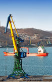 Sea trading port Royalty Free Stock Photography