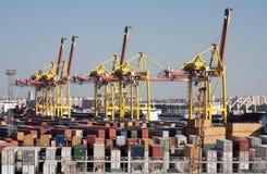 Sea trading port Royalty Free Stock Photo