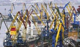 Sea transportation of cargo Royalty Free Stock Photo