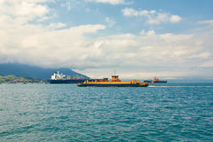 Sea transports Stock Images