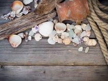 Sea travel background Royalty Free Stock Photo