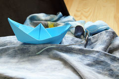 Sea travel fantasy Stock Photography