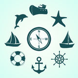 Sea travel Royalty Free Stock Images