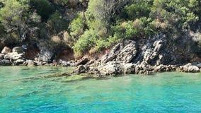 Sea travel in Turkey stock footage