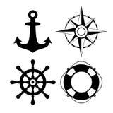 Sea travel vector icon Stock Photo