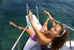 Sea trip royalty free stock photo