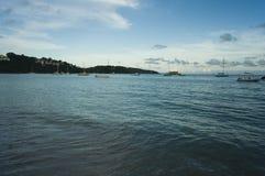 Sea at tropic Royalty Free Stock Photography