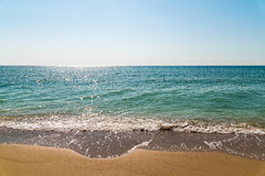 Sea And Tropical Beach Landscape Royalty Free Stock Photos