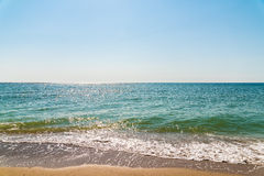 Sea And Tropical Beach Landscape Royalty Free Stock Image