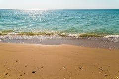 Sea And Tropical Beach Landscape Stock Photos