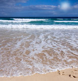 Sea,tropical Beach,waves In The Summer Royalty Free Stock Photos