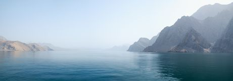 Free Sea Tropical Landscape With Mountains And Fjords, Oman Royalty Free Stock Photography - 116119757