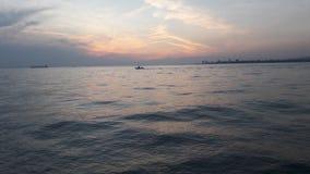 A sea in turkey. Turkey sea izmir blue cloudly royalty free stock photos