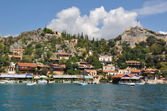 Sea in Turkey Kekova Royalty Free Stock Photos