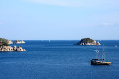 The sea. Turkey.  Marmaris Royalty Free Stock Photos
