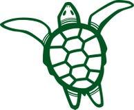 Sea Turtle. Stylized illustration of a sea turtle Stock Photography