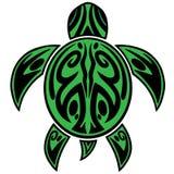 Sea Turtle Tribal Tattoo Royalty Free Stock Image