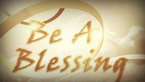 Sea una bendición esta acción de gracias almacen de metraje de vídeo