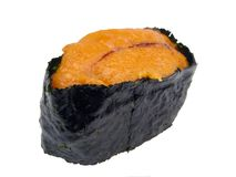 Sea urchin roe sushi Stock Photos