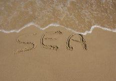 Sea vacation concept Stock Photos