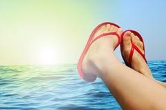 Sea vacations Stock Photo