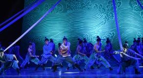 """sea valiente en un sueño peligroso del """"The del drama de la situación-danza del  de seda marítimo de Road†Fotografía de archivo"""