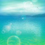 Sea Vector Background Royalty Free Stock Photography
