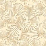 Sea vector seamless pattern Stock Photo