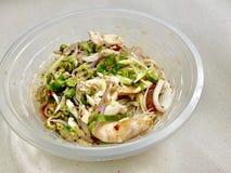 Sea vermicelli salad stock photo