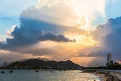 Sea in Vietnam Stock Images