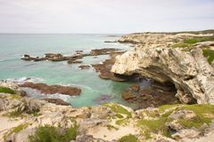 Sea view Arniston Royalty Free Stock Images