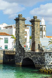 Sea View At Castle Of San Gabriel And Arrrecife, Lanzarote, Canary Islands Stock Photography