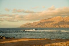 Sea view at Atlantic coast Royalty Free Stock Photos