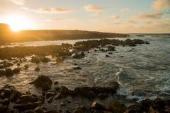 Sea view at Atlantic coast Royalty Free Stock Image