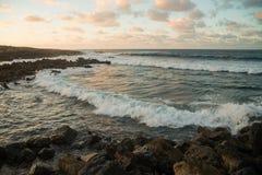 Sea view at Atlantic coast Royalty Free Stock Images
