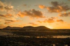 Sea view at Atlantic coast Stock Photo