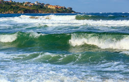 Sea view from beach. Royalty Free Stock Image