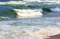 Sea view from beach. Stock Photo