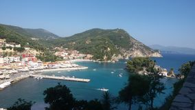 Sea view. Beautuful sea view in Parga, Greece Stock Photography