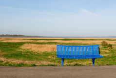 Sea view bench Royalty Free Stock Photo