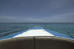 Sea view from the boat Royalty Free Stock Photo