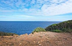 Sea view Cabrera island Mallorca Stock Photos