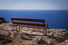 Sea view from  the Capo Greco. Agia Napa Royalty Free Stock Images