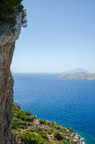 Sea view from the cliff Royalty Free Stock Images
