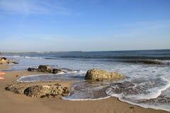 Sea View. Coastal shot taken on the beach Royalty Free Stock Photo