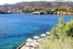 Sea view in Crete Royalty Free Stock Image