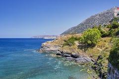 Sea view on the Crete Island Stock Photography