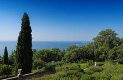 Sea view. In Crimea, Ukraine Stock Photo