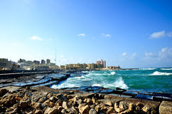 Sea view in Egypt Stock Photography
