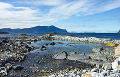 Alesund sea view Royalty Free Stock Images